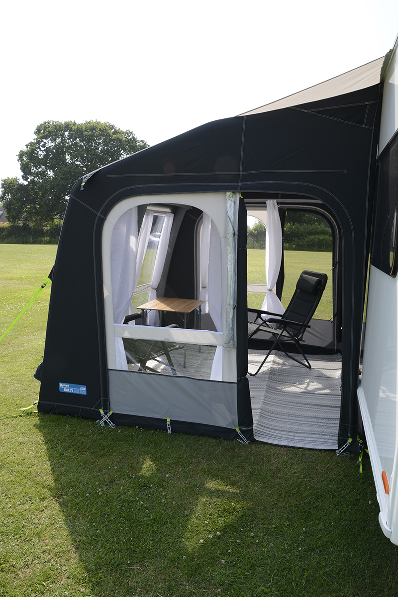 Kampa Rally Air Pro 260 2018 With Free Limpets And Storm